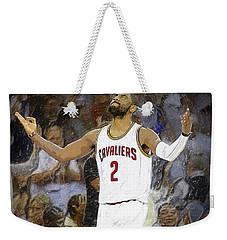 Kyrie Irving Weekender Tote Bag by Semih Yurdabak