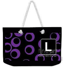 L Weekender Tote Bag
