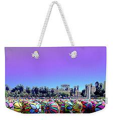 Los Angeles Glows In The Spheres Of Macarthur Park Weekender Tote Bag