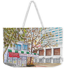 La Bella Flowers, Riverside Dr. And Screenland, Burbank, California Weekender Tote Bag
