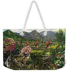 Weekender Tote Bag featuring the painting La Belle Vence by Belinda Low