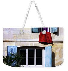 La Courtepointe Rouge Weekender Tote Bag