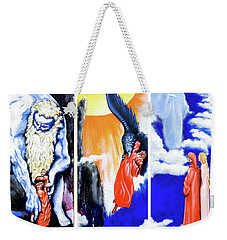 La Divina Commedia Weekender Tote Bag by Victor Minca