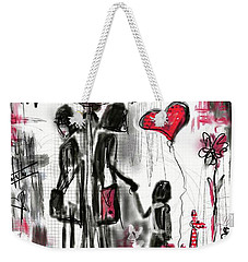 La Divorce  Weekender Tote Bag