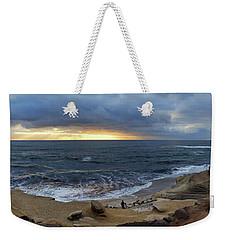 La Jolla Shores Beach Panorama Weekender Tote Bag