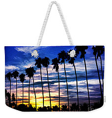 La Jolla Silhouette - Digital Painting Weekender Tote Bag