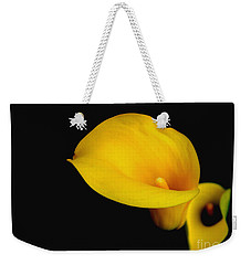 Weekender Tote Bag featuring the photograph la Lilly by Debra Crank