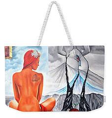 La Marcha Mas Larga Weekender Tote Bag