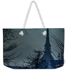 La Mole Antonelliana-blu Weekender Tote Bag