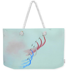 La Patrouille De France Weekender Tote Bag by Betty-Anne McDonald
