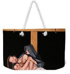 La Pieta Weekender Tote Bag