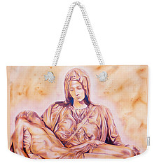 La Pieta By Michelangelo Weekender Tote Bag