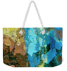 Weekender Tote Bag featuring the painting La Playa by Dominic Piperata