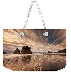 La Push Sunset Weekender Tote Bag