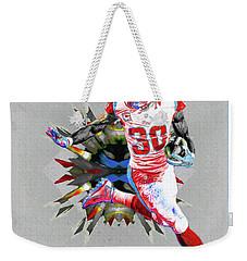 La Rams Paint Todd Gurley 5b Weekender Tote Bag