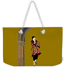 Weekender Tote Bag featuring the digital art La Robe  by Asok Mukhopadhyay
