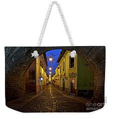 La Ronda Calle In Old Town Quito, Ecuador Weekender Tote Bag