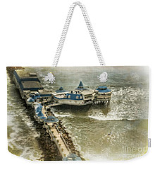 Weekender Tote Bag featuring the photograph La Rosa Nautica - Peru by Mary Machare