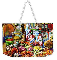 La Table De Fruits De Mer Weekender Tote Bag