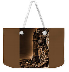 La Tour Upright In Sepia Weekender Tote Bag