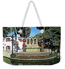 La Vallita - Day Of The Dead Weekender Tote Bag by Joseph Hendrix