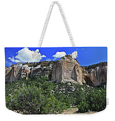 Weekender Tote Bag featuring the photograph La Ventana Arch by Gary Kaylor