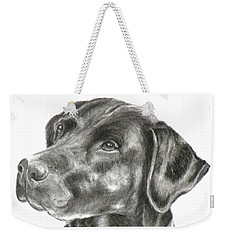 Lab Charcoal Drawing Weekender Tote Bag