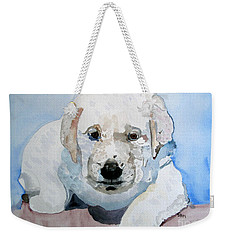 Lab Puppy Weekender Tote Bag