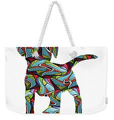 Lab Puppy Spirit Glass Weekender Tote Bag