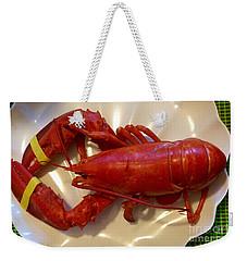 Labor Day Lobster Weekender Tote Bag