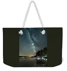 Labor Day Milky Way In Vacationland Weekender Tote Bag