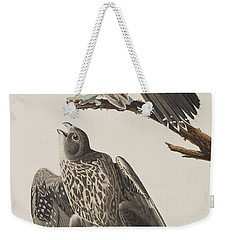 Labrador Falcon Weekender Tote Bag by John James Audubon