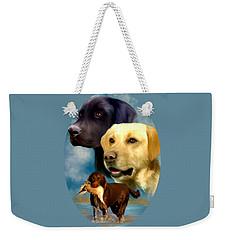 Labrador Retrievers Weekender Tote Bag