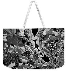 Lace Cap Hydrangea Flower Abstract Weekender Tote Bag