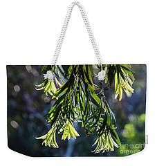 Lacey Leaves Weekender Tote Bag