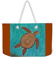 Lacey's Sea Turtle Weekender Tote Bag