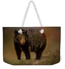 Black Bear In The Fall Weekender Tote Bag