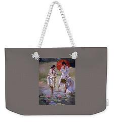 Ladies And Lilies Weekender Tote Bag