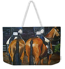 Ladies At Sussex Hunt Night Weekender Tote Bag