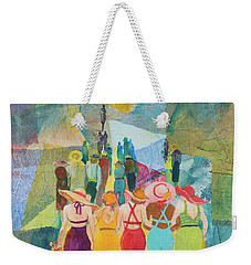 Ladie's Night Out Weekender Tote Bag