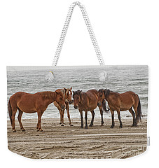 Ladies On The Beach Weekender Tote Bag
