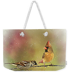 Ladies Out On A Limb Weekender Tote Bag by Andrea Kollo