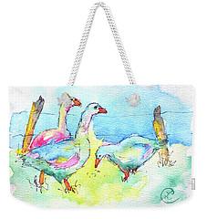 Ladies That Lunch Weekender Tote Bag