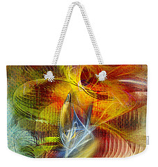 Lady And Her Shells Weekender Tote Bag