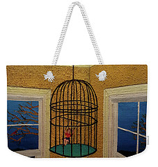 Lady Bird Weekender Tote Bag by Thomas Blood