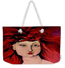 Lady Bloom Weekender Tote Bag