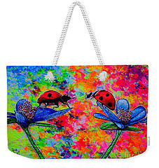 Lady Bugs Weekender Tote Bag by Viktor Lazarev