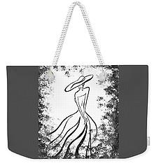 Lady Charm Weekender Tote Bag by Irina Sztukowski