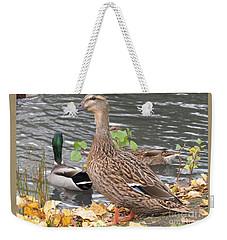 Lady Duck Weekender Tote Bag