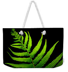 Lady Green Weekender Tote Bag